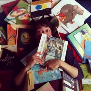 Catalogo della Lettrice vi-à-vis per piccoli, dentro o fuori